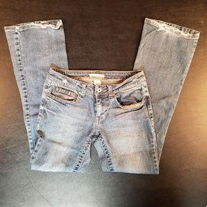 Charlotte Russe Refuge Denim Blue Jeans Size 5R